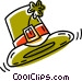 St.. Patrick's day hat Vector Clip Art image