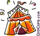 circus tent Vector Clipart picture