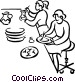 pottery Vector Clipart graphic