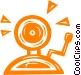 alarm bell Vector Clip Art image