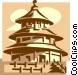 Temple of Heaven, Beijing Vector Clipart image