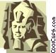 King Tut Vector Clipart illustration
