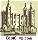 Mormon Temple Vector Clipart picture