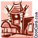 Mann's Chinese Theatre Vector Clipart picture