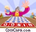 Bingo Game Vector Clipart illustration