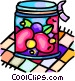 preserves Vector Clip Art picture
