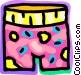Underwear Vector Clipart image