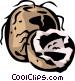 coconut Vector Clip Art image
