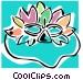 mardi gras mask Vector Clipart graphic