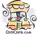 merry-go-round Vector Clip Art image