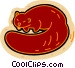 beaver Vector Clip Art graphic