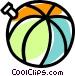 beach ball Vector Clip Art picture