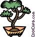 bonsai tree Vector Clip Art picture