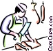 Butchers Vector Clipart image