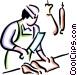 Butchers Vector Clipart image