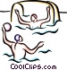 Water Polo Vector Clipart picture
