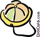rain hat Vector Clip Art graphic