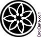 decorative flourishes Vector Clip Art image
