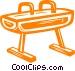 pommel horse Vector Clip Art picture