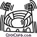 sports stadium Vector Clip Art picture