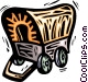 Covered wagon Vector Clip Art picture