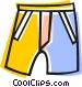 shorts Vector Clipart illustration