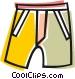 shorts Vector Clip Art image