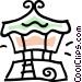 gazebo Vector Clip Art image