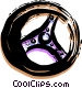 Steering Wheels Vector Clipart picture