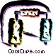 Car Wash Vector Clip Art graphic