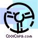 Steering Wheels Vector Clipart image