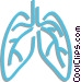lungs Vector Clip Art image