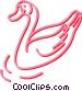 swan Vector Clip Art picture