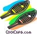 snowshoes Vector Clip Art image