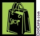 Shopping Bags Vector Clip Art picture