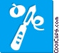 potato peeler Vector Clipart image