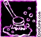Misc Cleaning Materials Vector Clipart illustration