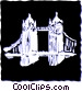 Tower Bridge Vector Clipart picture