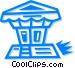 gazebo Vector Clip Art picture