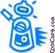 deep fryer Vector Clip Art graphic