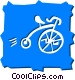 Penny Farthing Vector Clipart image