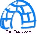 igloo Vector Clipart picture