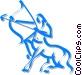 centaurs Vector Clipart illustration