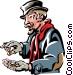 Scrooge Vector Clip Art image