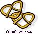 pretzel Vector Clip Art image