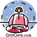 person meditating Vector Clipart picture