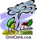 Tornadoes Vector Clip Art image