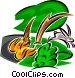 Forest Fires Vector Clip Art picture