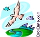 Seagulls Vector Clipart picture