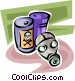 Toxic Chemicals Vector Clipart picture